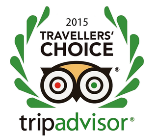 Travellers Awards Trip Advisor 2015