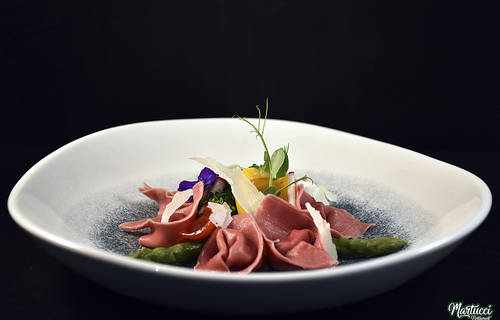 Beef filet carpaccio