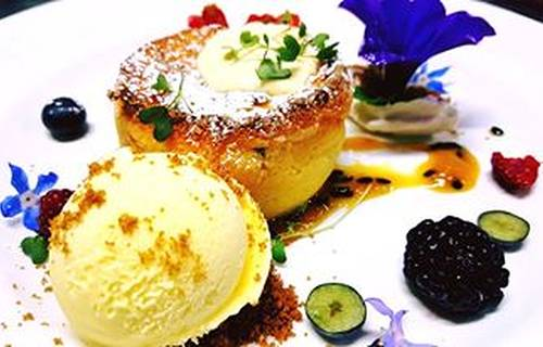 Passion Fruit Soufflè